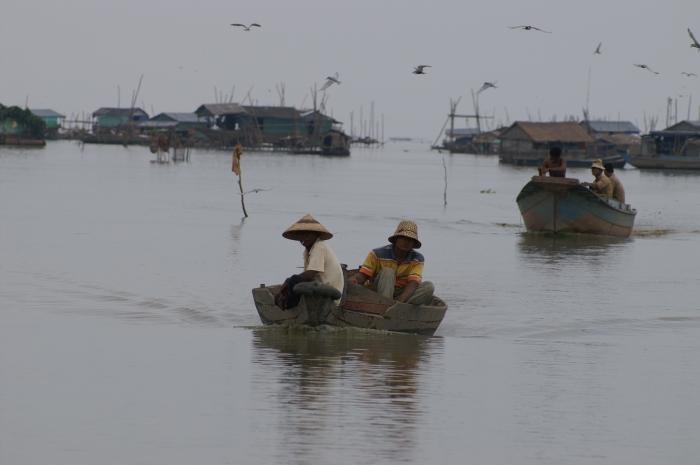 Tonle Sap lake, Cambodgia